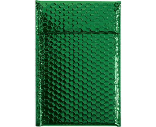 7 1/2 x 11 Glamour Bubble Mailers Green