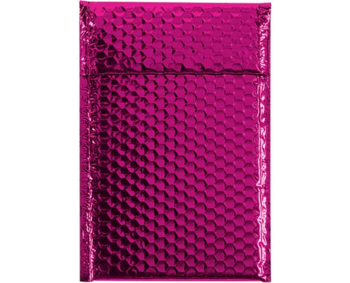 7 1/2 x 11 Glamour Bubble Mailers Pink