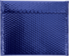 13 3/4 x 11 Glamour Bubble Mailers Blue
