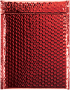 9 x 11 1/2 Glamour Bubble Mailers Red