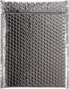 9 x 11 1/2 Glamour Bubble Mailers Silver