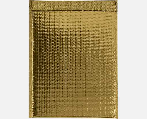 13 x 17 1/2 Glamour Bubble Mailers Gold