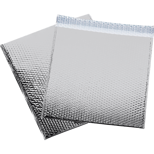 16 x 17 1/2 Glamour Bubble Mailers Silver