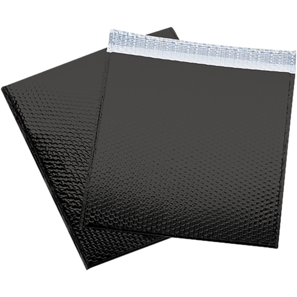 16 x 17 1/2 Glamour Bubble Mailers Black