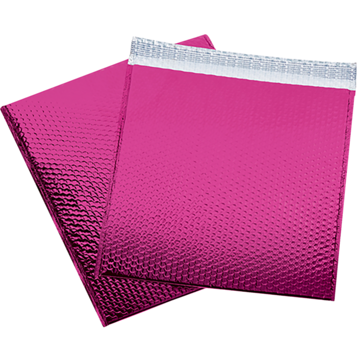 16 x 17 1/2 Glamour Bubble Mailers Pink