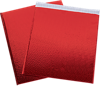 19 x 22 1/2 Glamour Bubble Mailers Red