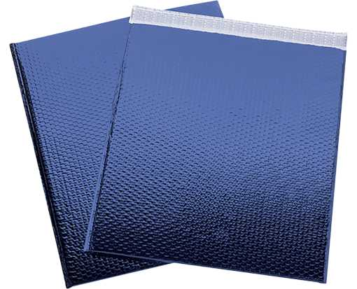19 x 22 1/2 Glamour Bubble Mailers Blue