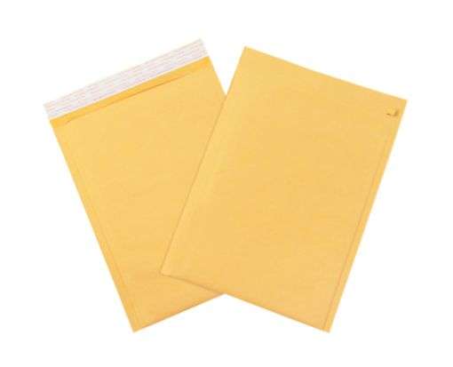 #5 Bubble Mailers w/ Tear Strip Brown Kraft