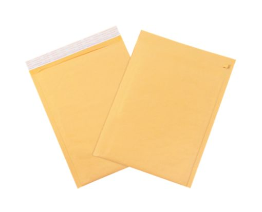 #1 Bubble Mailers w/ Tear Strip Brown Kraft