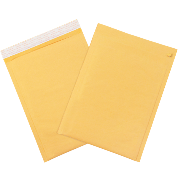 #3 Bubble Mailers w/ Tear Strip Brown Kraft