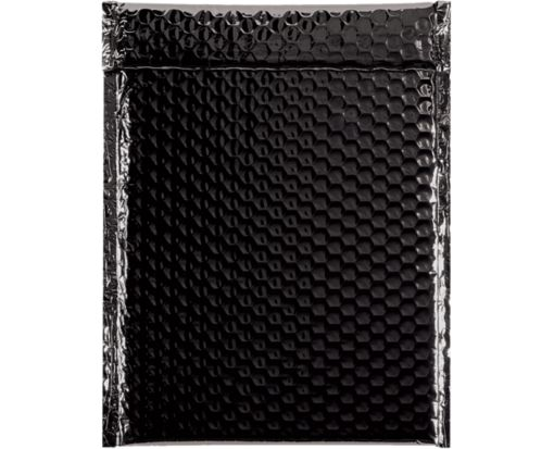9 x 11 1/2 Glamour Bubble Mailers Black