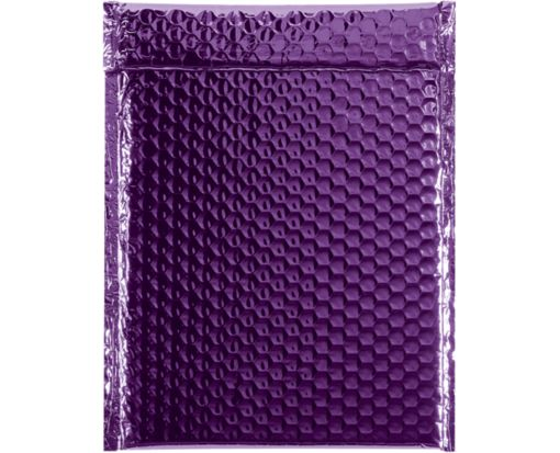 9 x 11 1/2 Glamour Bubble Mailers Purple