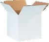 Corrugated Boxes - 10 x 10 x 10 White