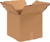 Corrugated Boxes - 12 x 12 x 12 Kraft