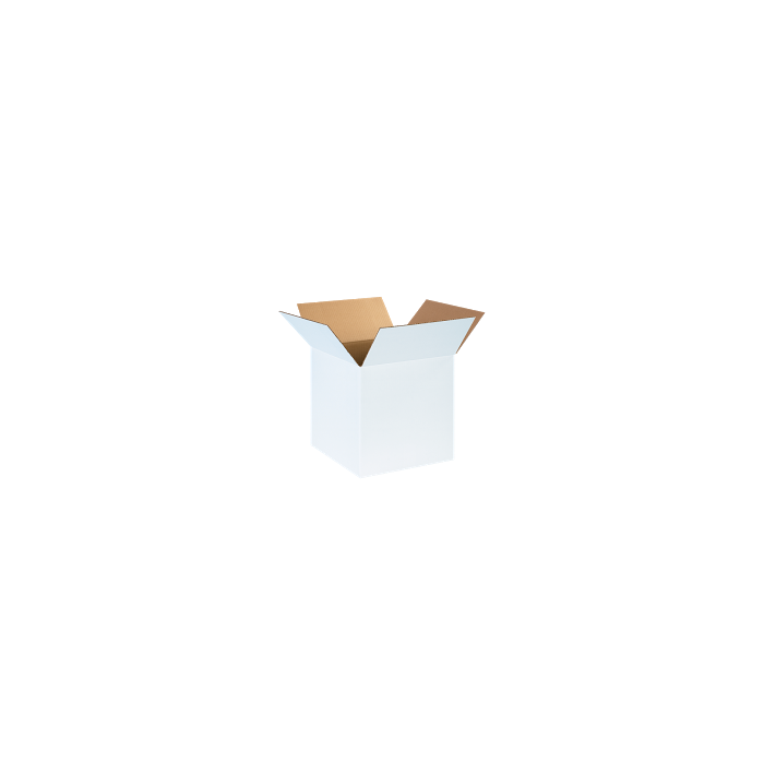 Corrugated Boxes - 14 x 14 x 14  White