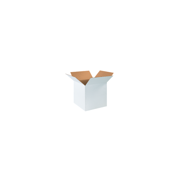 Corrugated Boxes - 16 x 16 x 16  White