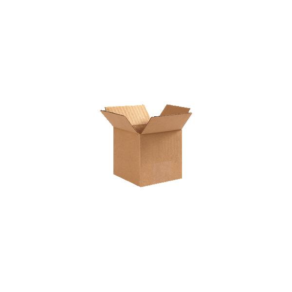 Corrugated Boxes - 4 x 4 x 4  Kraft
