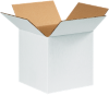 Corrugated Boxes - 8 x 8 x 8  White