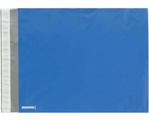 14 1/2 x 19 Poly Mailers Blue