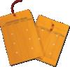 10 x 13 Inter-Department Envelopes 28lb. Brown Kraft