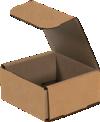 Corrugated Mailers - 4 x 4 x 2  Kraft