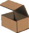 Corrugated Mailers - 6 x 4 x 3  Kraft