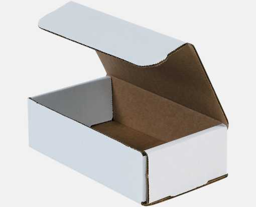 Corrugated Mailers - 7 x 4 x 2  White
