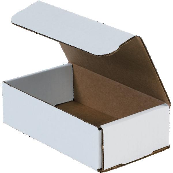 Corrugated Mailers - 7 x 4 x 2  White
