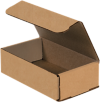 Corrugated Mailers - 7 x 4 x 2 Kraft