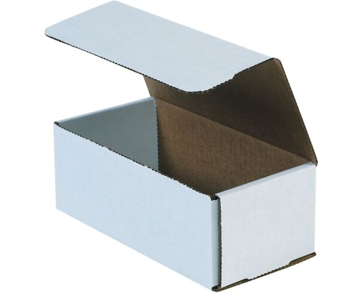 Corrugated Mailers - 8 x 4 x 3 White