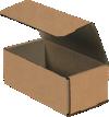 Corrugated Mailers - 8 x 4 x 3 Kraft