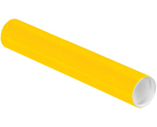 2 x 12 Mailing Tubes Sunflower