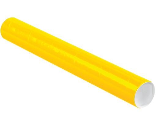 3 x 24 Mailing Tubes Sunflower