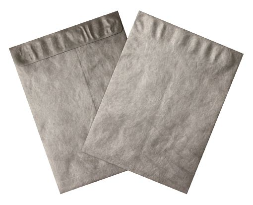 10 x 13 Open End Envelopes Silver - Tyvek
