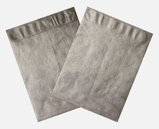 9 x 12 Open End Envelopes Silver - Tyvek