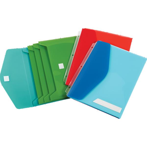 Blank Oxford® Side Load Binder Pockets W/ Velcro Closure