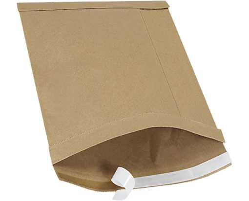#4 9 1/2 x 14 1/2 Self-Seal Padded Mailer Brown Kraft