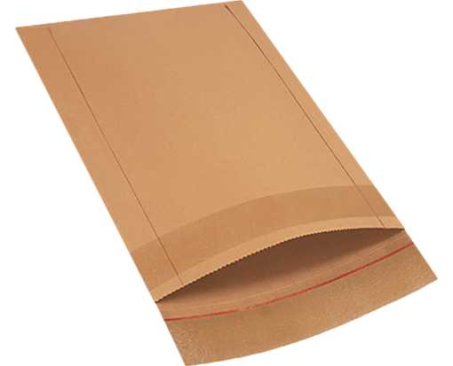 #7 14 1/2 x 18 1/2 Jiffy Rigi Bag Mailer Brown Kraft