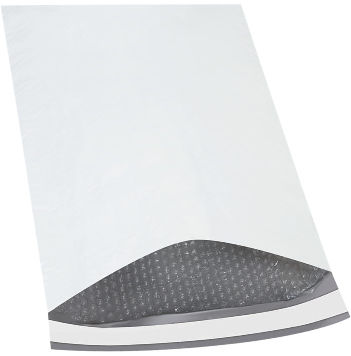 14 1/4 x 20 Bubble Lined Poly Mailer White