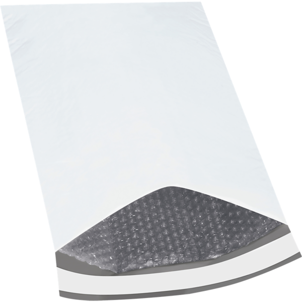 12 1/2 x 19 Bubble Lined Poly Mailer White