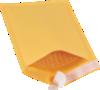 #00 5 x 10 Self-Seal Bubble Mailer Brown Kraft - Self Seal