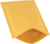 #0 6 x 10 Heat-Seal Bubble Mailer Brown Kraft - Heat Seal
