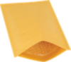 #1 7 1/4 x 12 Heat-Seal Bubble Mailer - Brown Kraft Brown Kraft - Heat Seal
