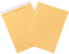 #1 7 1/4 x 12 Self-Seal Bubble Mailer w/Tear Strip Brown Kraft - Tear Strip