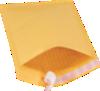 #2 8 1/2 x 12 Self-Seal Bubble Mailer Brown Kraft - Self Seal