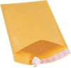 #3 8 1/2 x 14 1/2 Self-Seal Bubble Mailer Brown Kraft - Self Seal