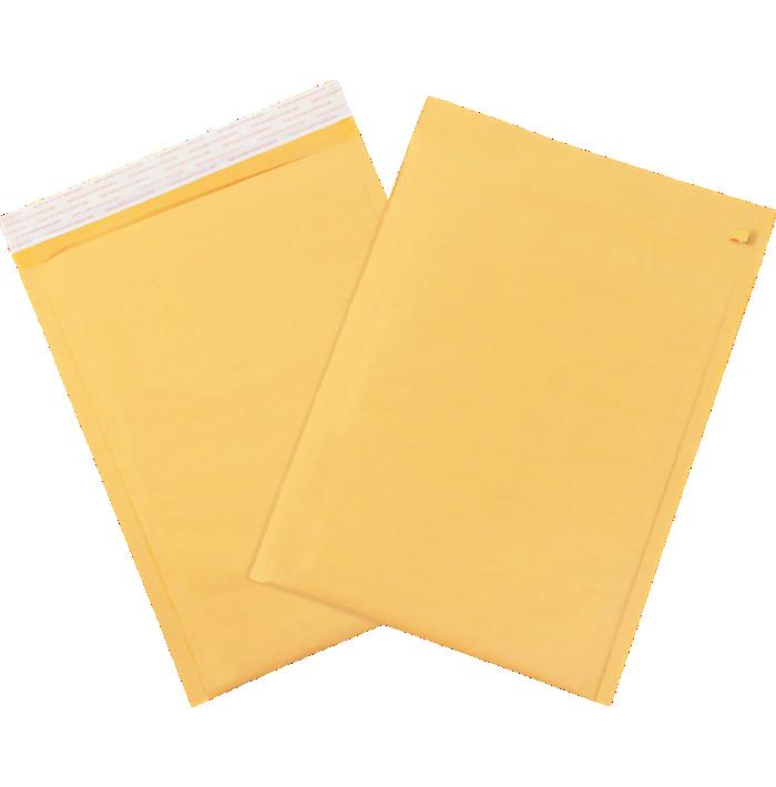 #5 10 1/2 x 16 Self-Seal Bubble Mailer w/Tear Strip Brown Kraft