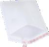 #5 10 1/2 x 16 Self-Seal Bubble Mailer White Kraft - Self Seal