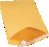 #7 14 1/4 x 20 Self-Seal Bubble Mailer Brown Kraft - Self Seal