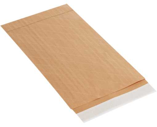#6 12 1/2 x 19 Self-Seal Nylon Reinforced Mailer Brown
